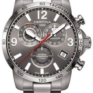 Certina DS Podium Chronograph GMT C034.654.44.087.00