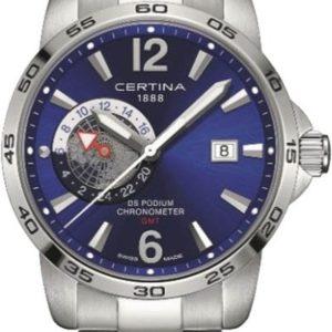 Certina DS Podium GMT C034.455.11.047.00