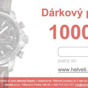 Helveti Dárkový poukaz 1000 Kč