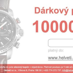 Helveti Dárkový poukaz 10000 Kč