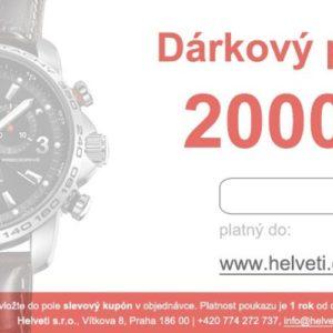 Helveti Dárkový poukaz 2000 Kč