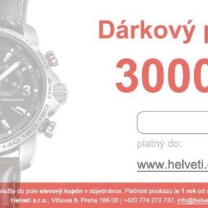 Helveti Dárkový poukaz 3000 Kč