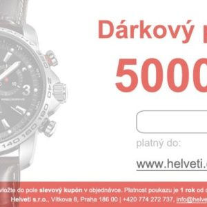 Helveti Dárkový poukaz 5000 Kč
