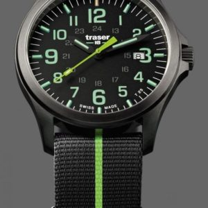 Traser P67 Officer Pro GunMetal Black/Lime Nato