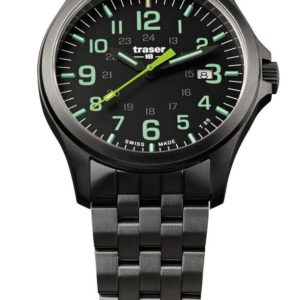Traser P67 Officer Pro GunMetal Black/Lime Ocel