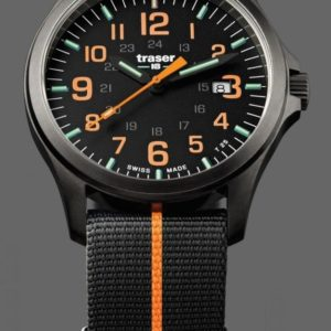 Traser P67 Officer Pro GunMetal Black/Orange Nato