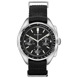 Bulova 96A225 Lunar Pilot Chronograph Watch