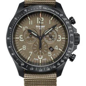 Traser P67 Officer Pro Chronograph Khaki Nato