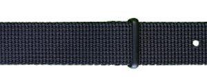 Traser řemen textilní NATO černý - NATO černý - 22 mm