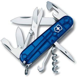 Victorinox SA Nůž Victorinox Climber Blue Transparent