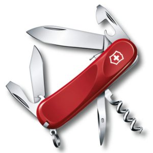 Victorinox SA Nůž Victorinox Evolution Grip S101 Red