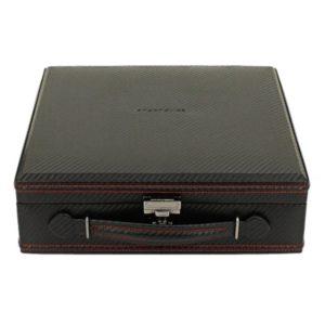 Friedrich Lederwaren Box na hodinky Friedrich Lederwaren Carbon 32054-2