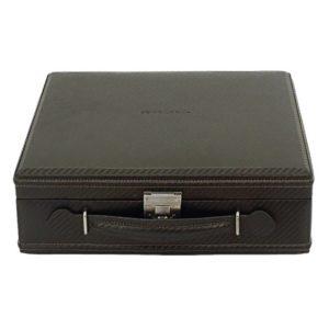 Friedrich Lederwaren Box na hodinky Friedrich Lederwaren Carbon 32054-3