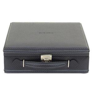 Friedrich Lederwaren Box na hodinky Friedrich Lederwaren Carbon 32054-5