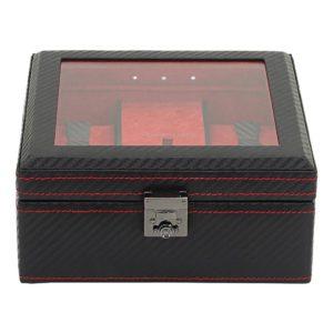Friedrich Lederwaren Box na hodinky Friedrich Lederwaren Carbon 32058-2