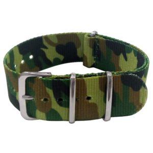NATO řemínek camouflage 22 mm