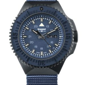 Traser P69 Black Stealth Blue Nato