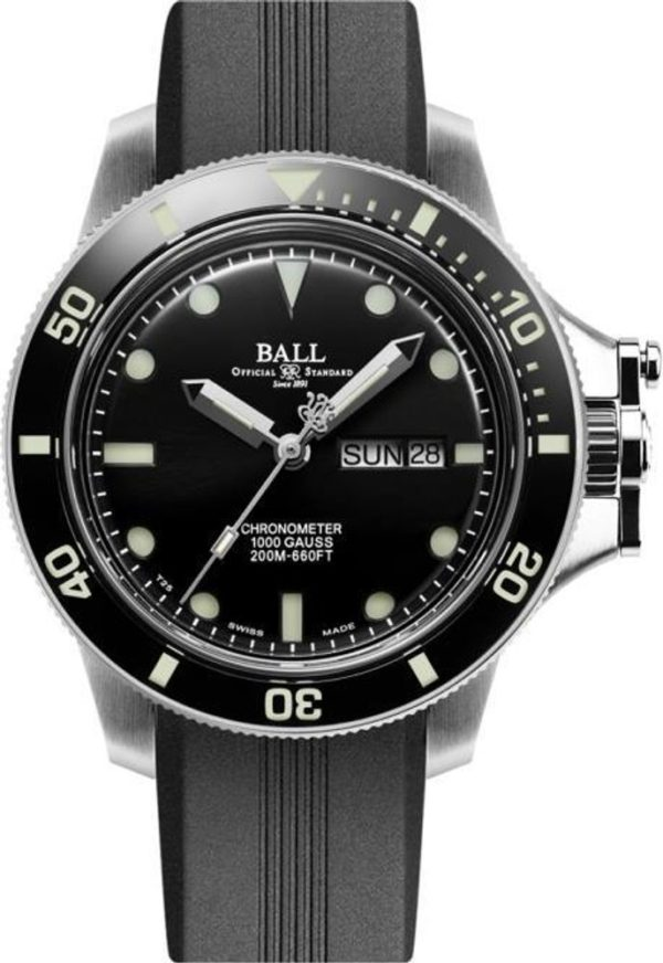 Ball Engineer Hydrocarbon Original (43mm) COSC DM2218B-PCJ-BK